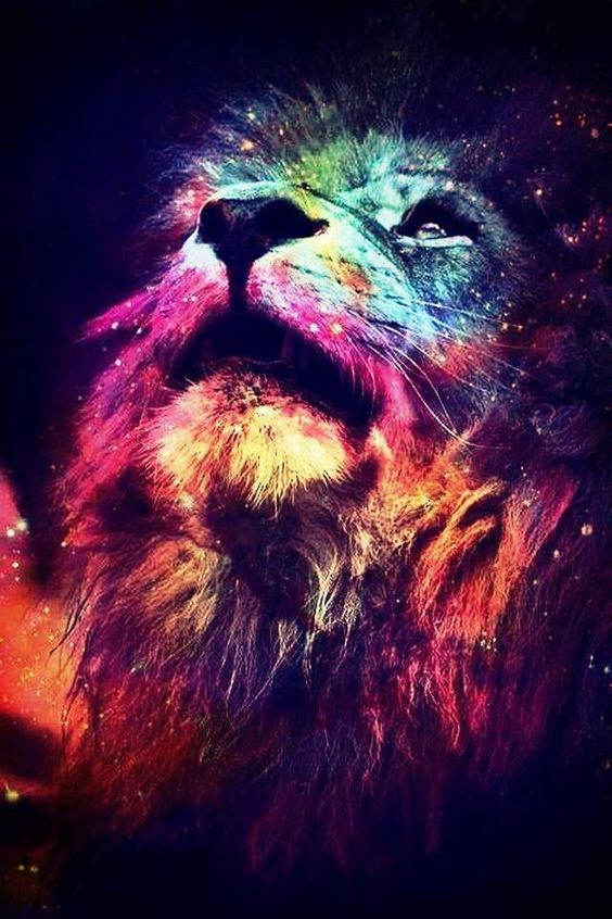 Download Abstract Lion wallpapers to your cell phone - abstract