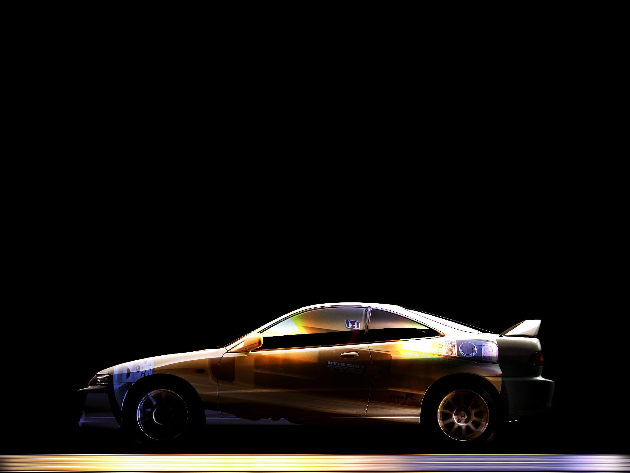 Black Acura Integra Wallpaper  Black Acura Integra Wallpaper Honda