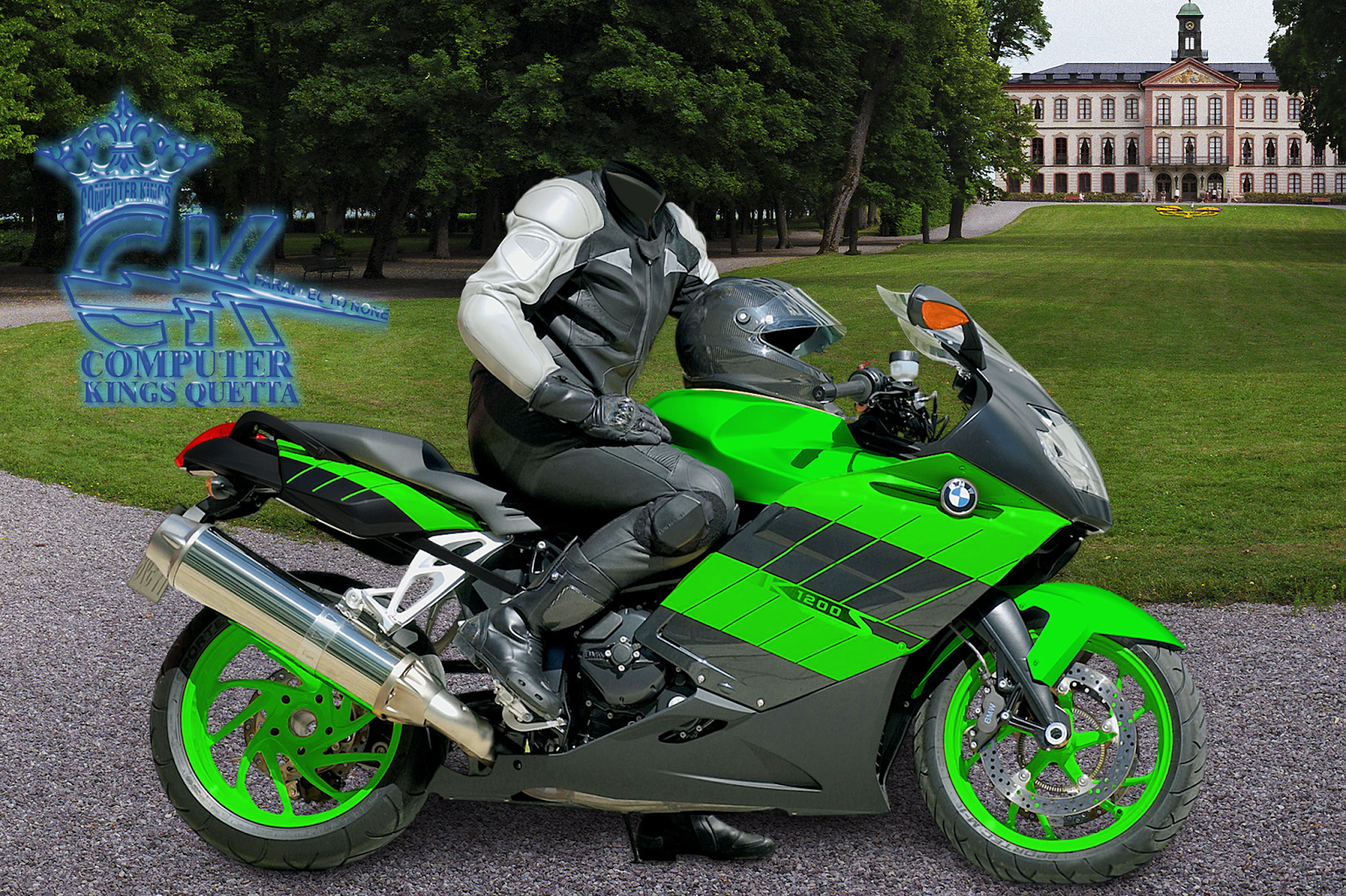 Photoshop Bike With Man Psd File Free Download ~ JK Software,s