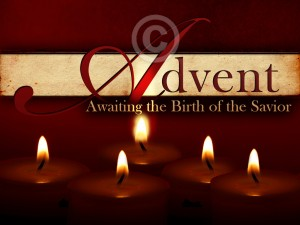 Advent Candles - Beautiful Worship Backgrounds by Christian Collages