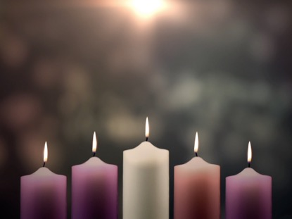 Advent Candles Christ Candle | Life Scribe Media | WorshipHouse Media