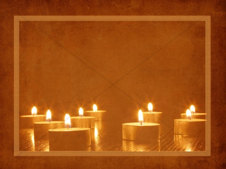 Advent Candles Worship Background | Worship Backgrounds