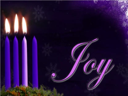 Advent Joy Candle Background | Vertical Hold Media | WorshipHouse