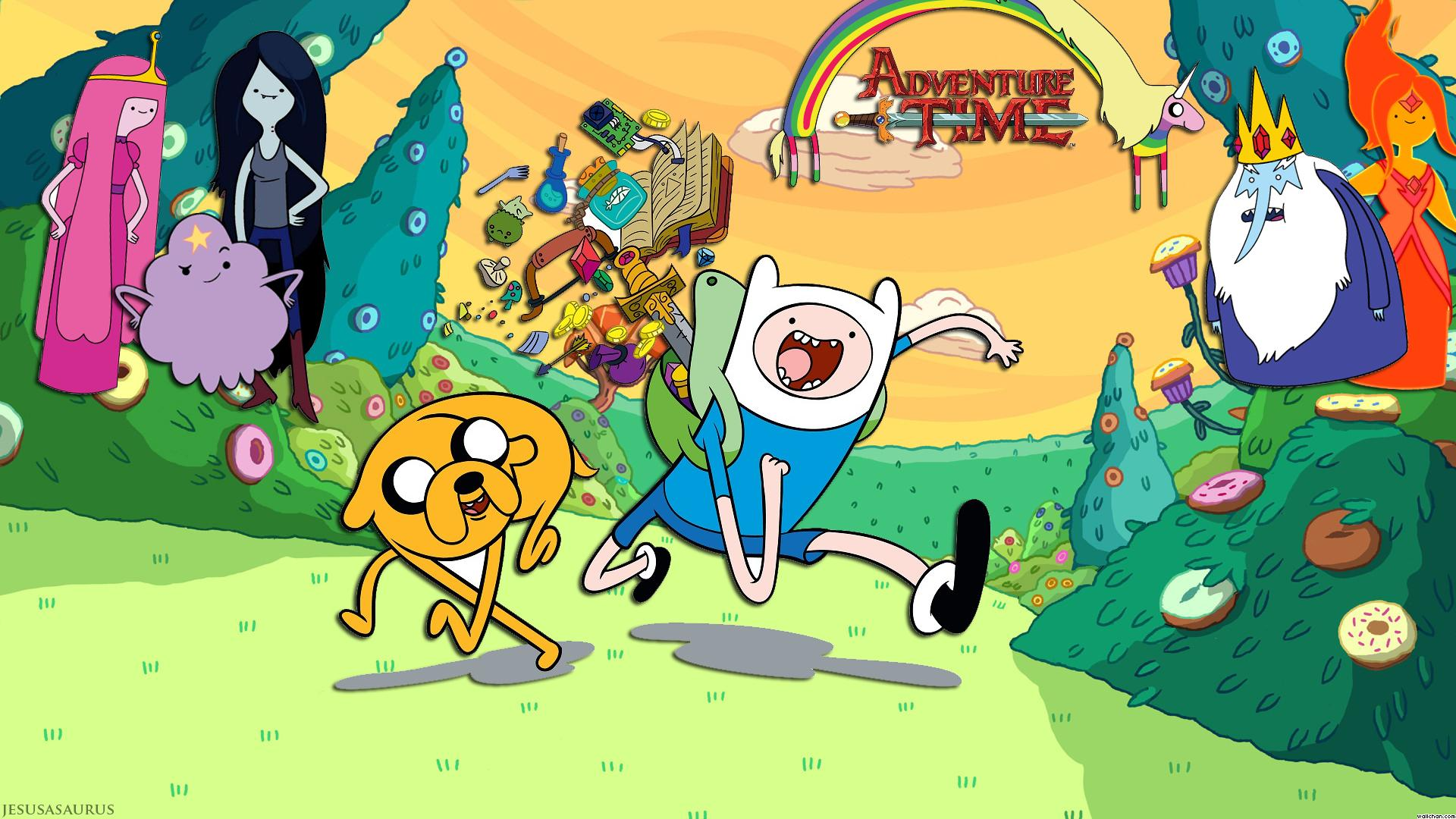 Adventure Time Wallpapers HD - Wallpaper Cave