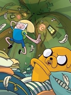 Adventure Time Mobile Wallpaper that's Awesome