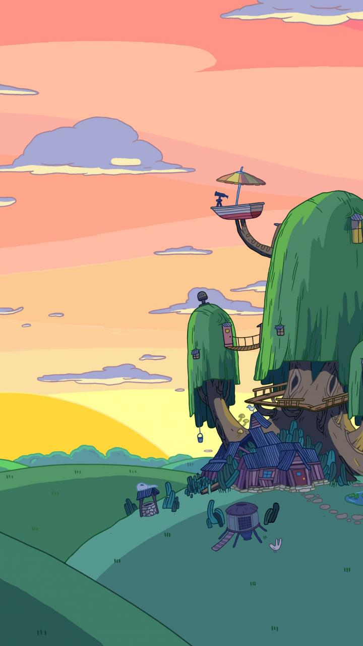 Adventure time wallpapers for mobile phone in 720x1280