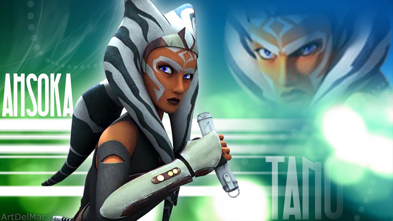 Ahsoka Wallpaper Sf Wallpaper