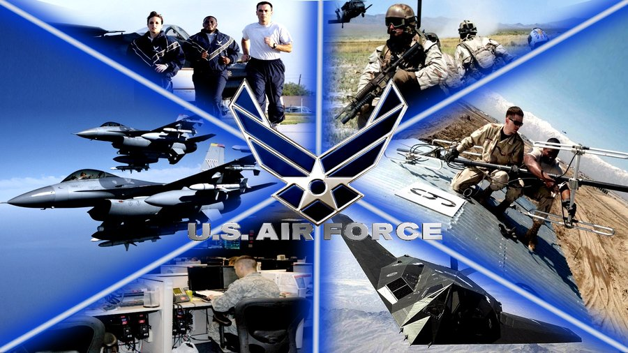 Us Air Force Logo Wallpaper