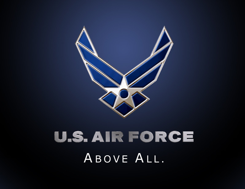 Air Force Logo Wallpaper - WallpaperSafari