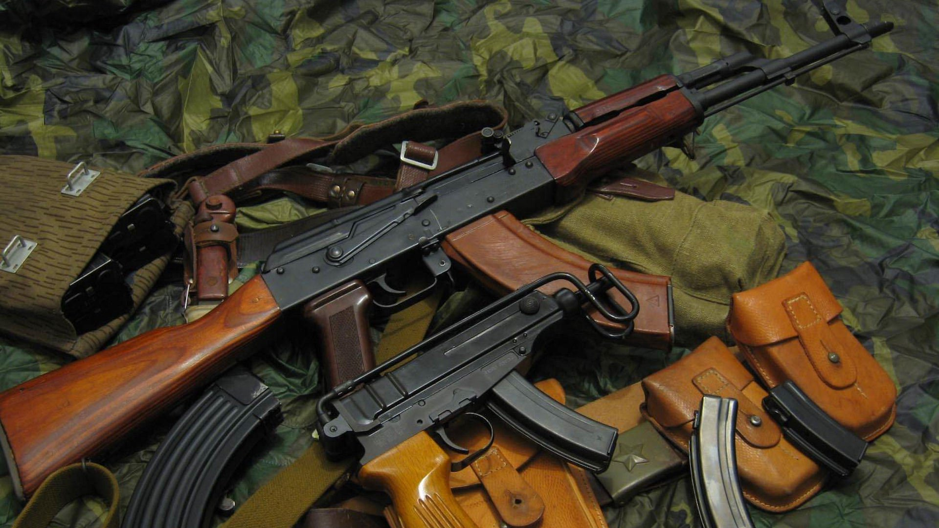 ak 47 guns wallpapers - sf wallpaper