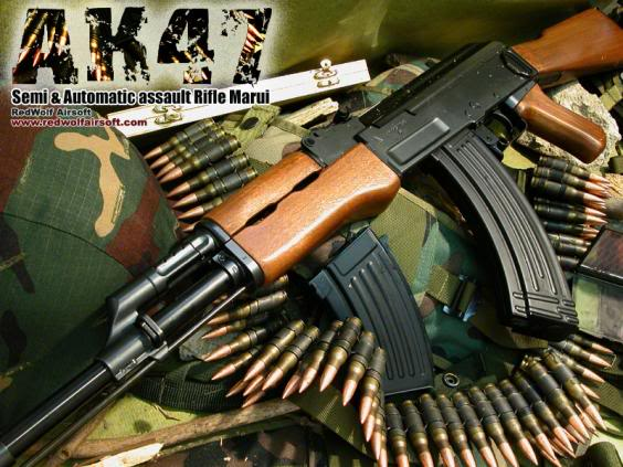 Ak 47 Guns Wallpapers