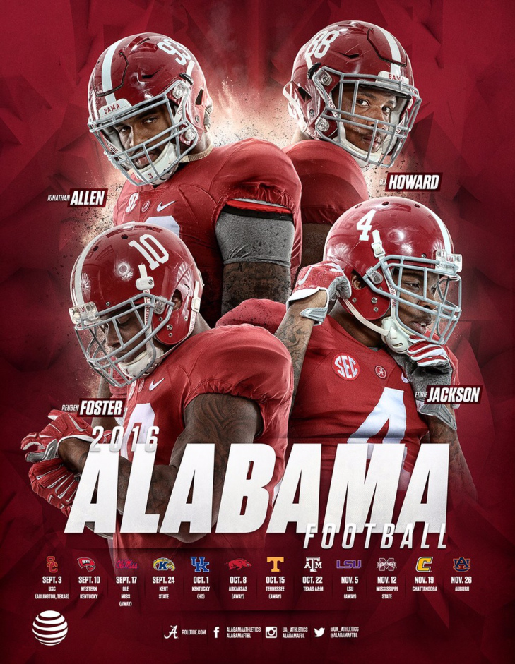 Alabama Football | Poster Swag