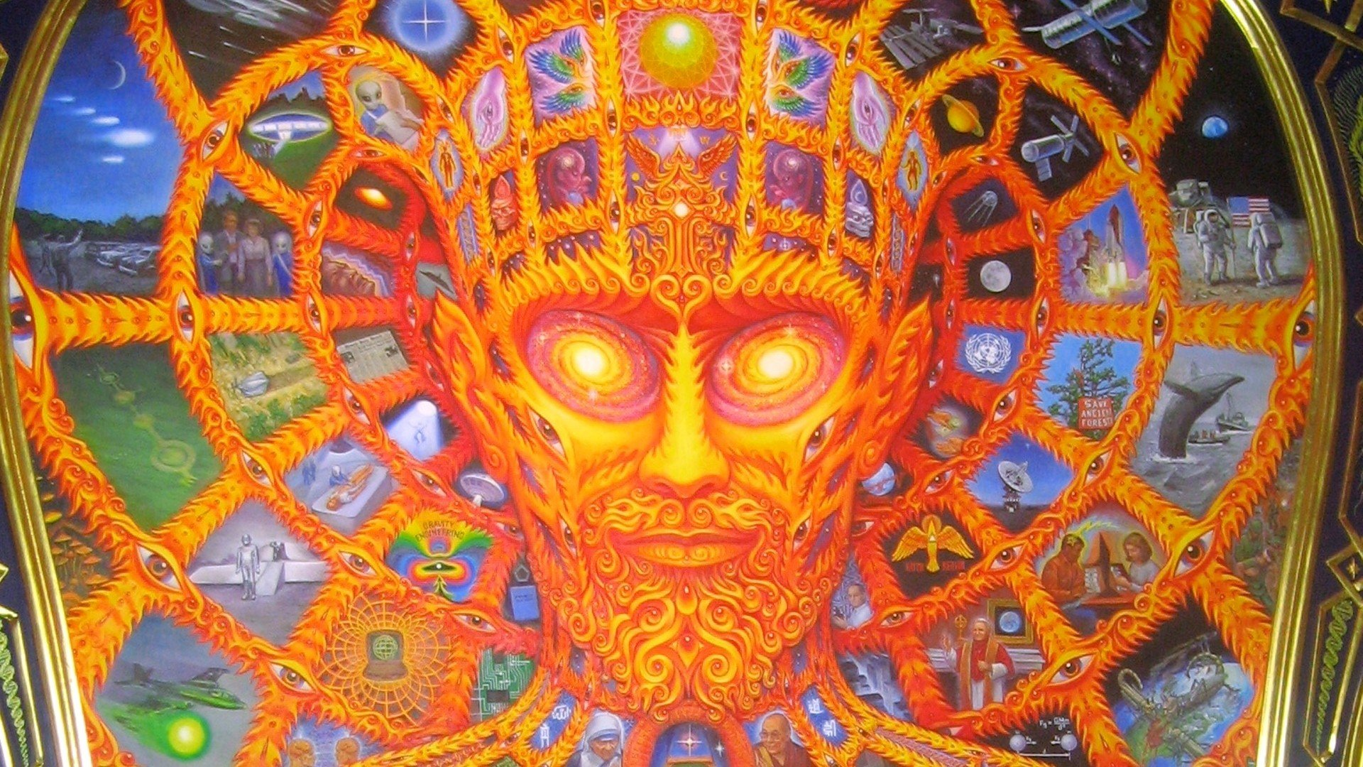 Alex Grey Wallpapers Group (56+)
