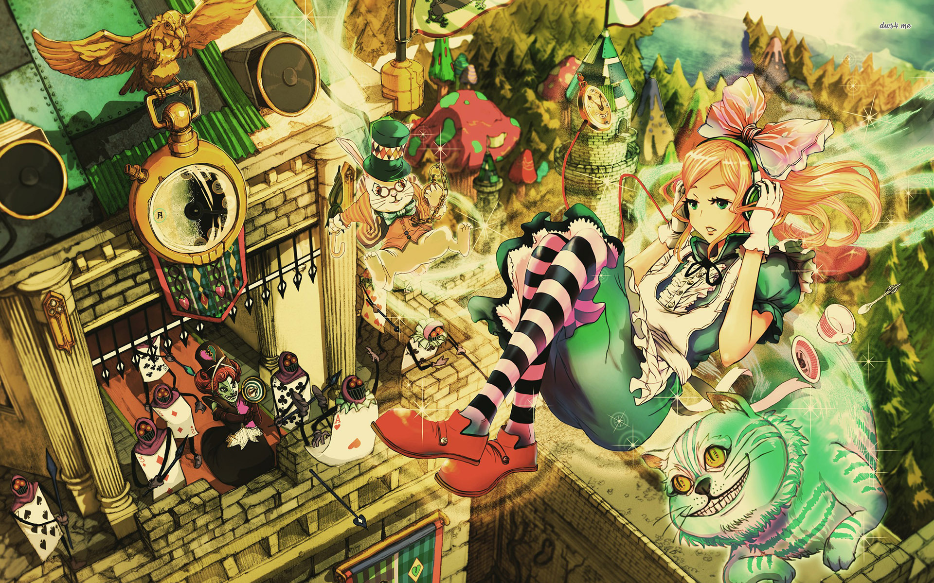 Alice In Wonderland Desktop Backgrounds Group (71+)