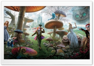 WallpapersWide com | Alice In Wonderland HD Desktop Wallpapers for