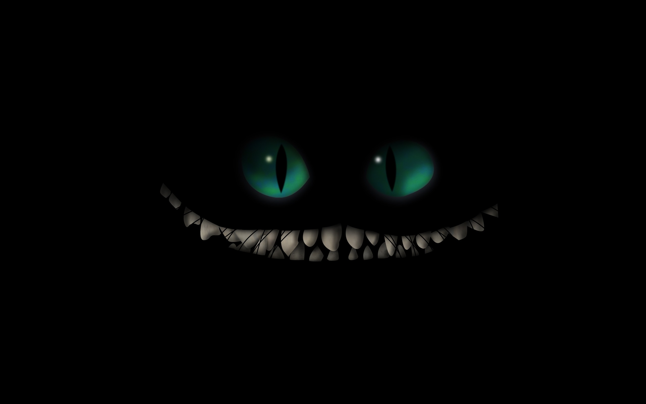 creepy, Cheshire Cat, Alice In Wonderland Wallpapers HD / Desktop