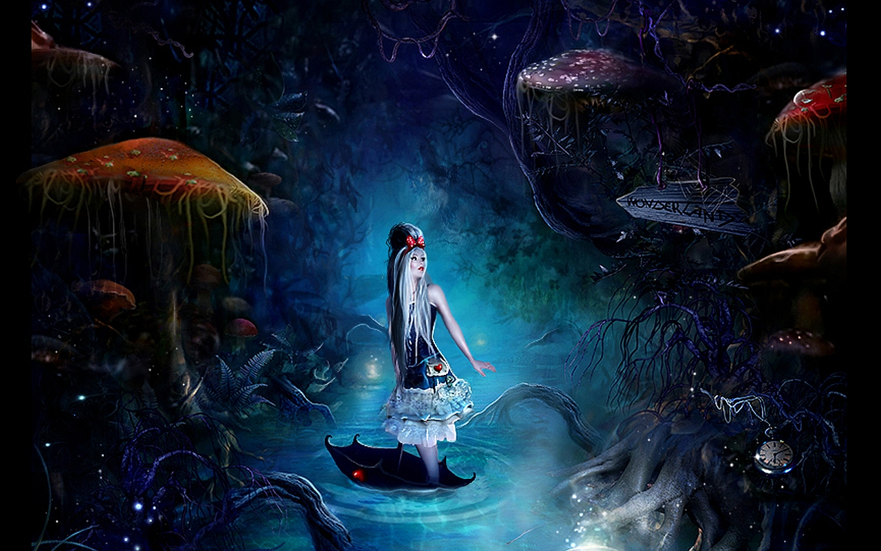 Alice In Wonderland Computer Wallpapers, Desktop Backgrounds
