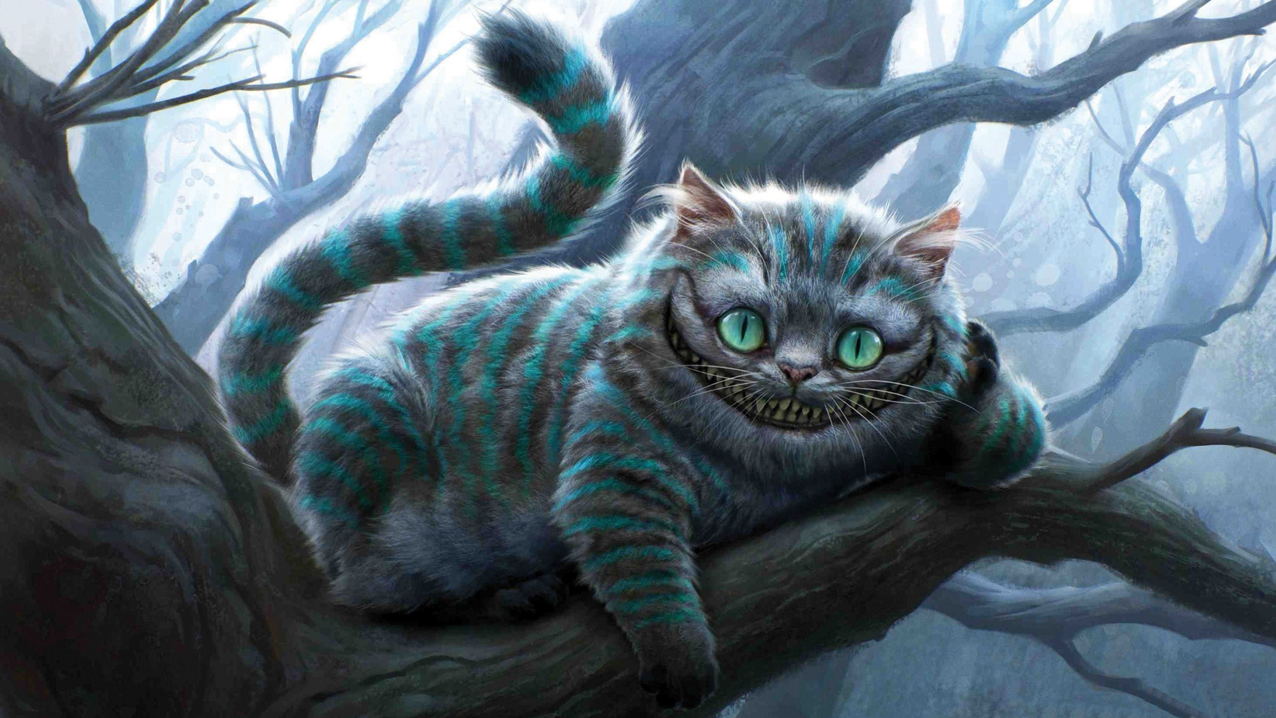 Cheshire Cat - Alice In Wonderland Desktop Background HD 1920x1200