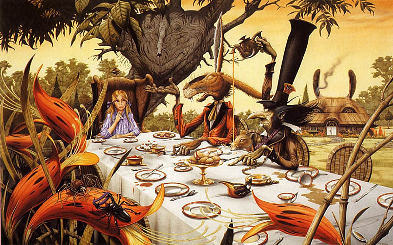 Alice In Wonderland HD Desktop Wallpapers | WallpapersCharlie