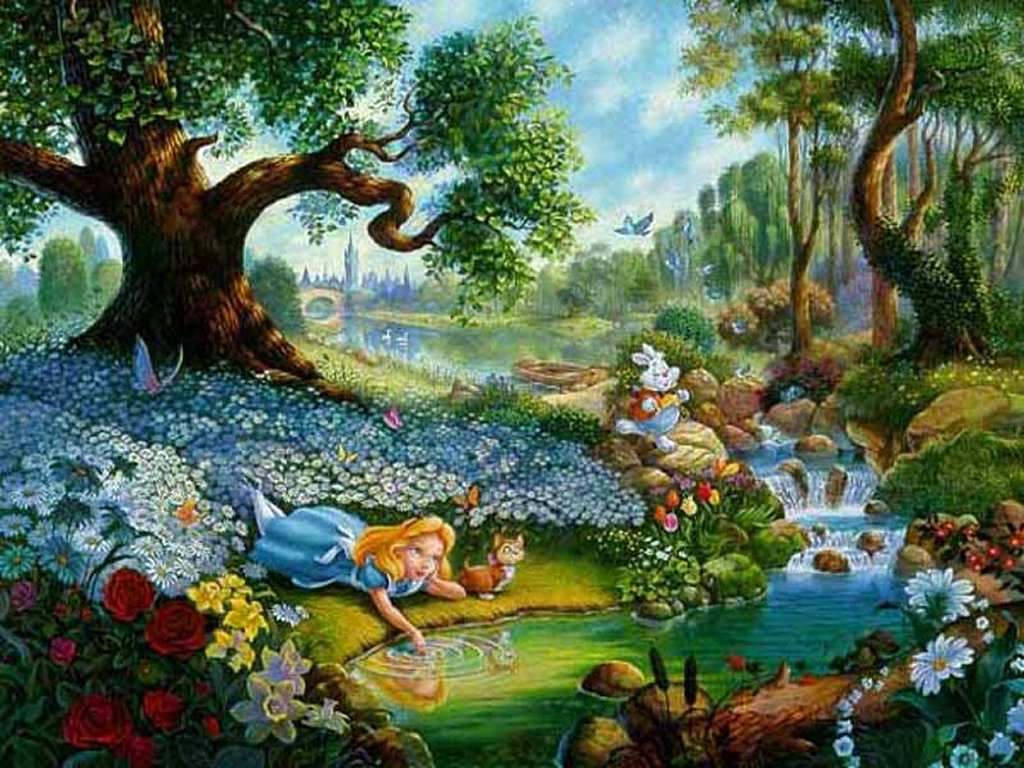 Alice In Wonderland Wallpapers - Wallpaper Cave
