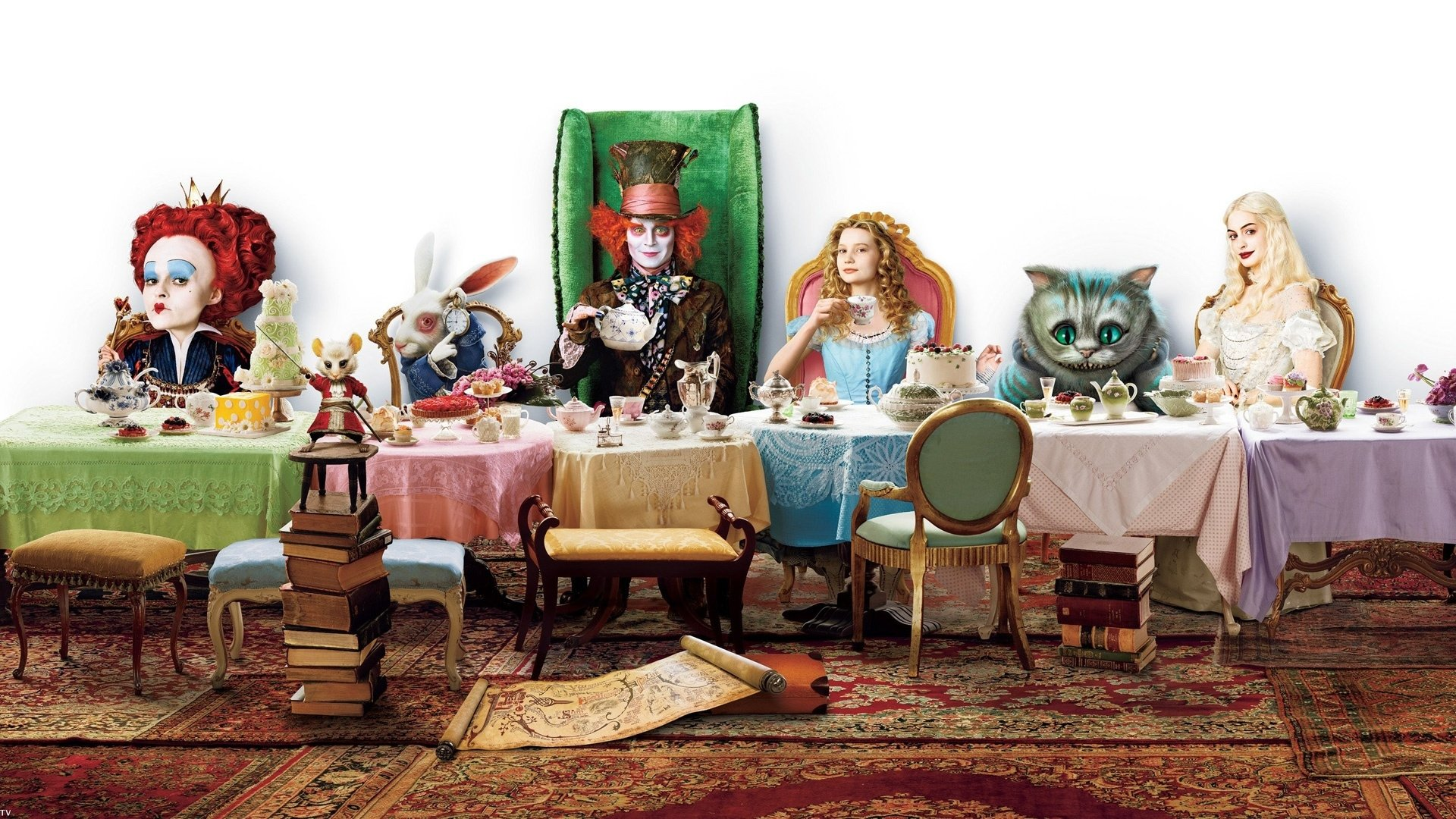 82 Alice In Wonderland (2010) HD Wallpapers | Backgrounds