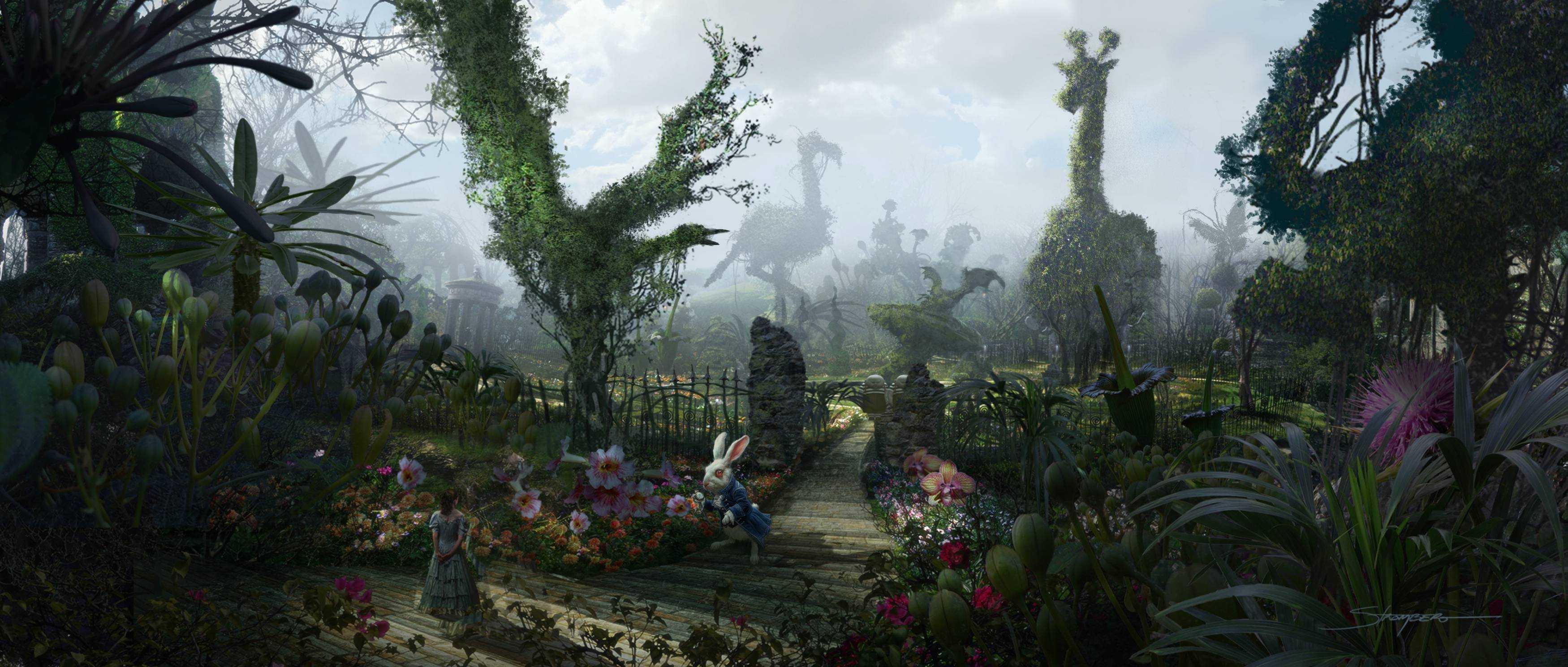 Alice in Wonderland Wallpaper iPhone - WallpaperSafari