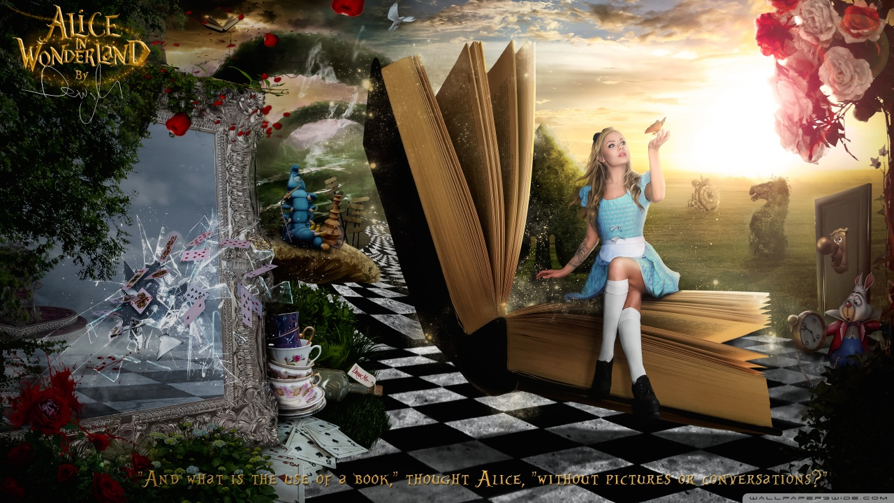 Alice in Wonderland 2016 HD desktop wallpaper : High Definition