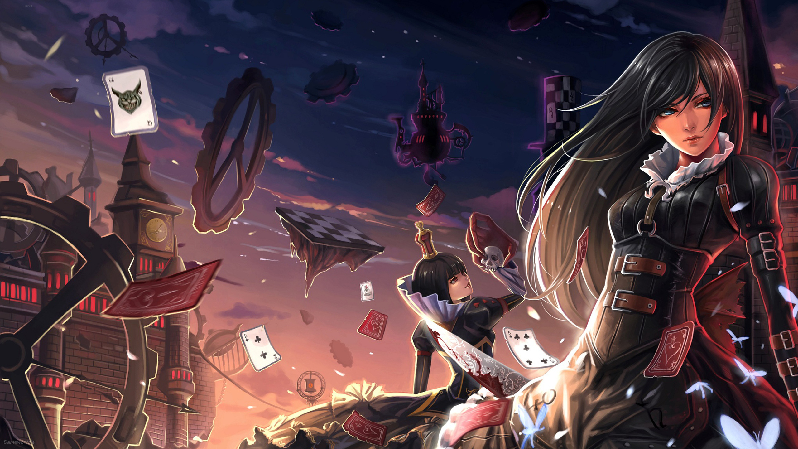 208 Alice: Madness Returns HD Wallpapers | Backgrounds - Wallpaper