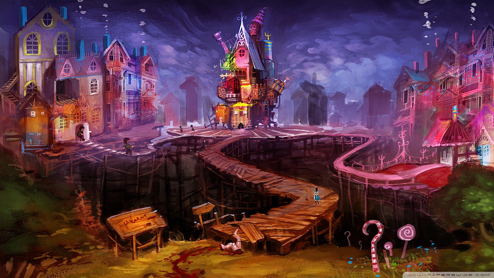 Alice Madness Returns Dollhouse HD desktop wallpaper : High