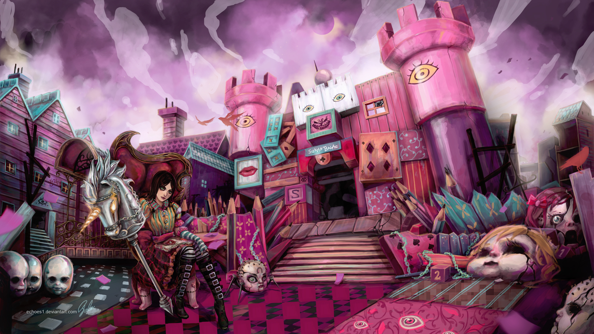 17 Best images about Alice madness returns on Pinterest | Floating