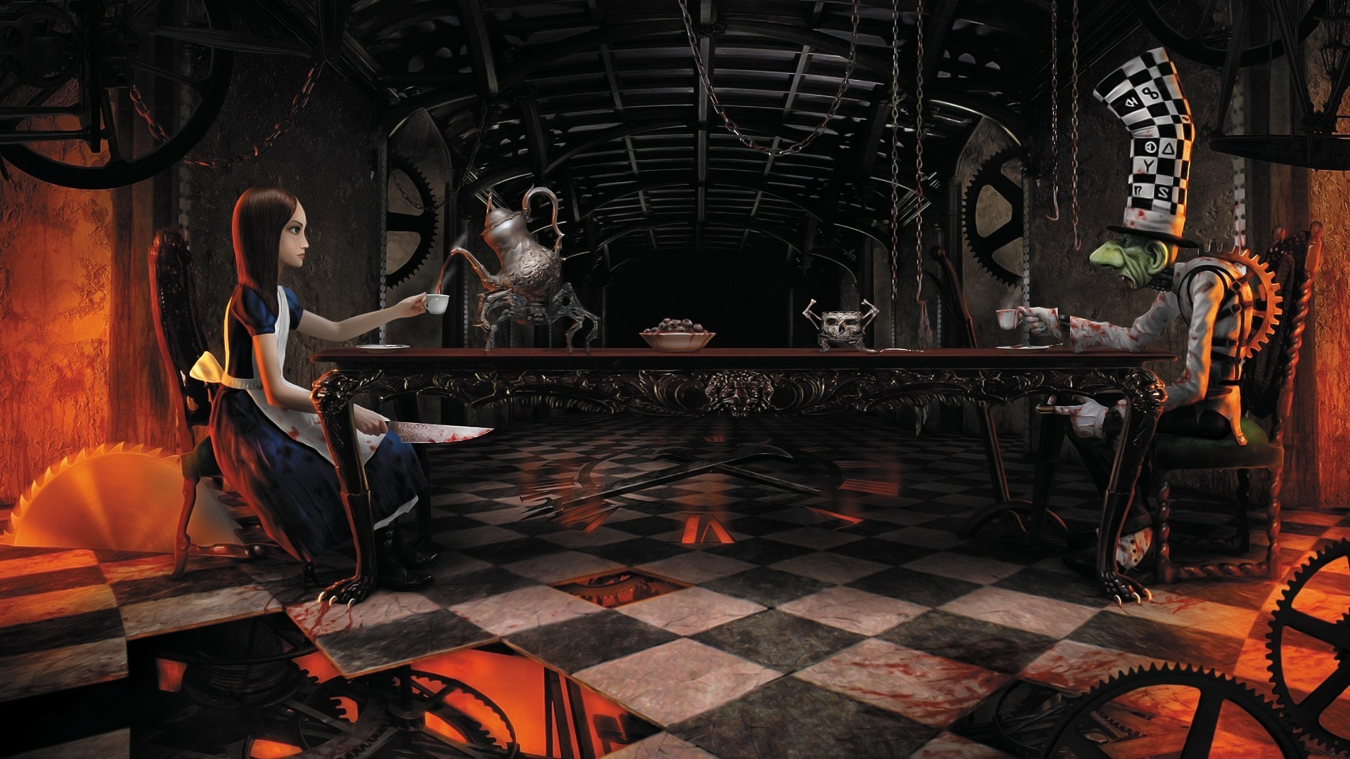 Alice: Madness Returns HD Wallpapers and Backgrounds