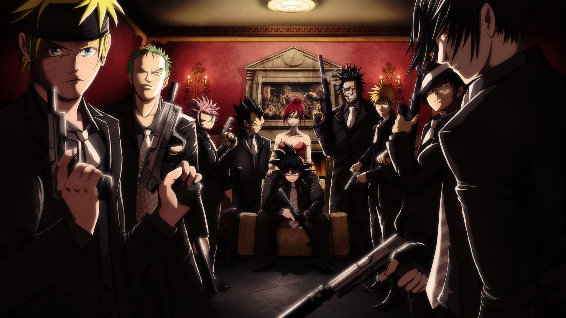All Anime Characters HD Wallpaper - WallpaperSafari