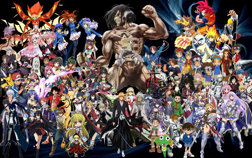 All Anime Wallpapers - WallpaperSafari