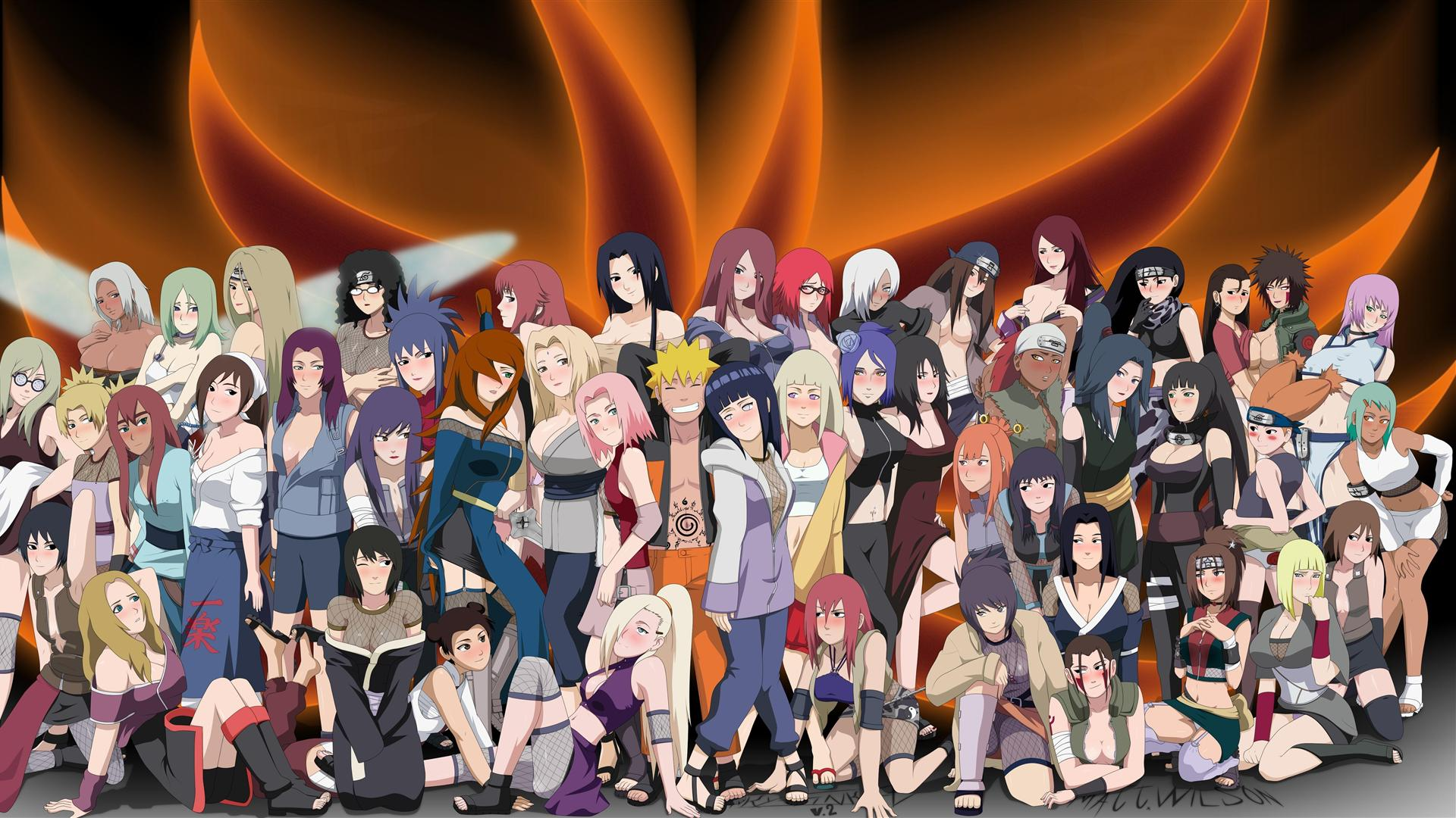 Naruto Characters Wallpaper