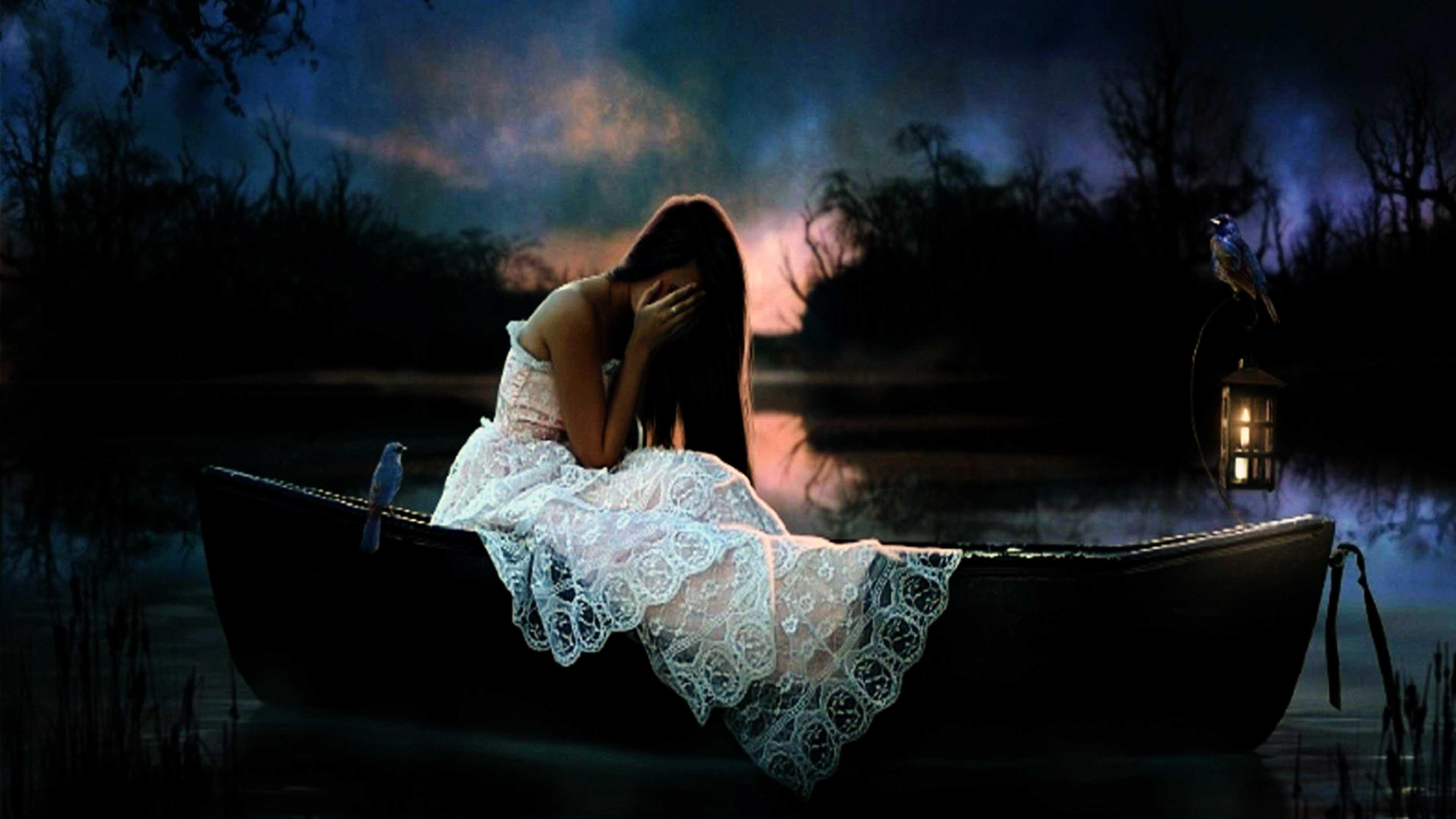 Sad Girl Images   Sad Girls Crying & Sitting Alone Wallpapers