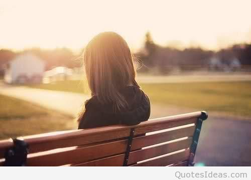 Sad alone girl wallpaper hd
