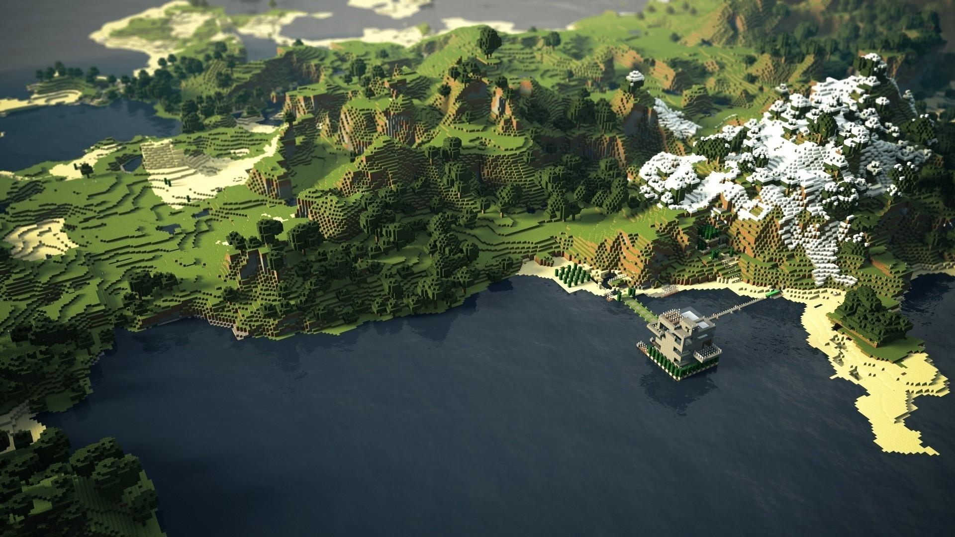 Amazing Minecraft Backgrounds Group (81+)
