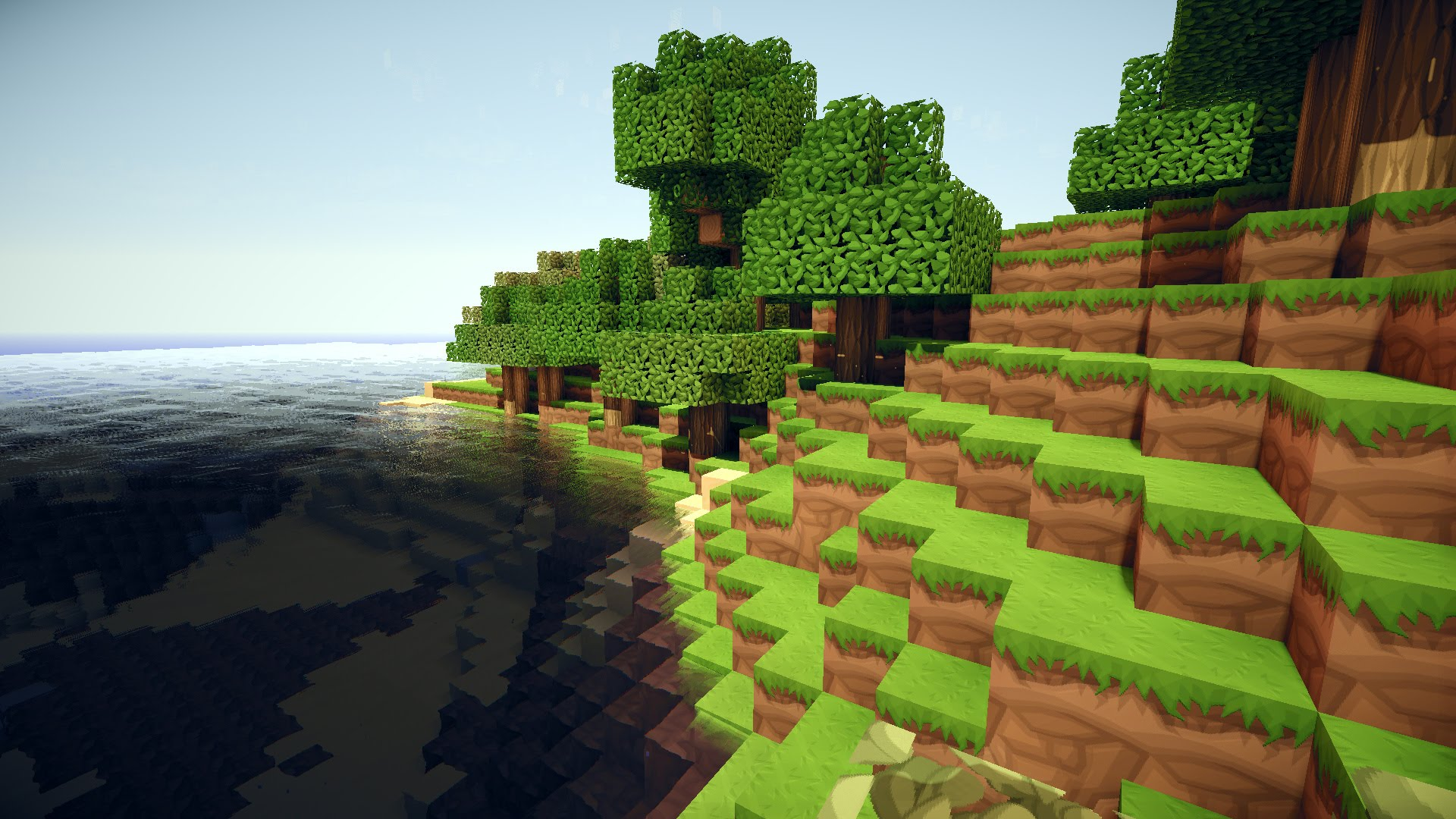 Collection of Amazing Minecraft Backgrounds on HDWallpapers