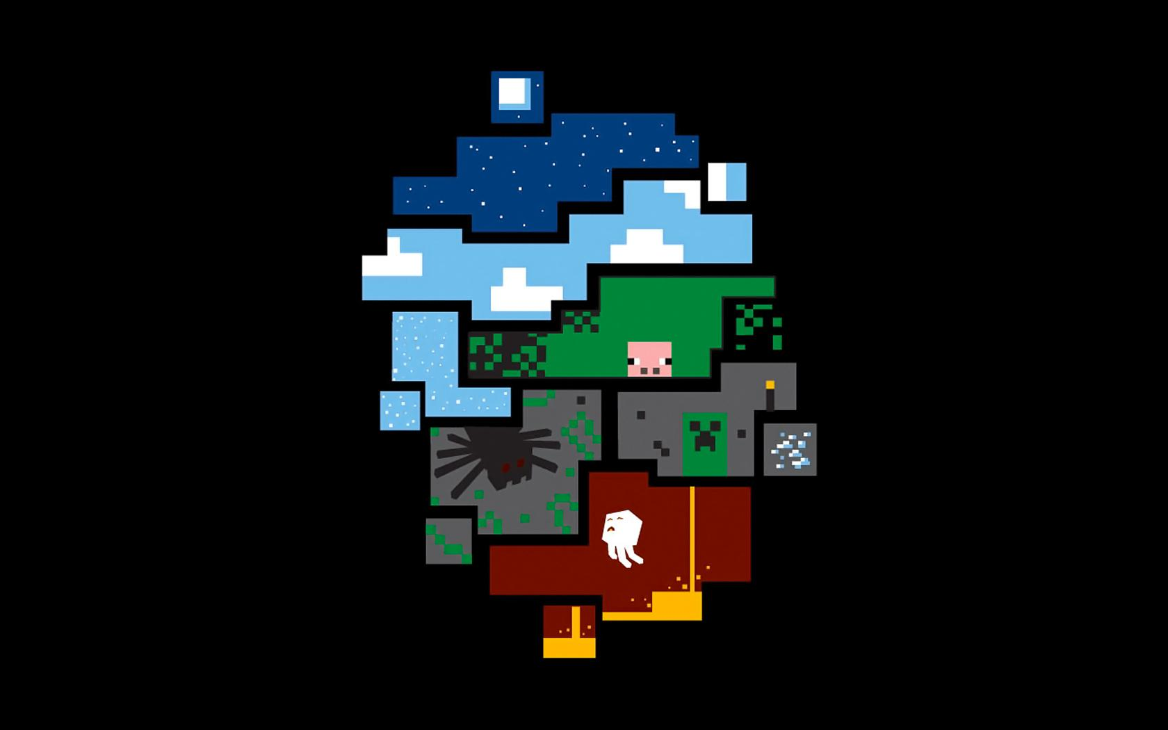 Cool Minecraft Backgrounds - Wallpaper Cave