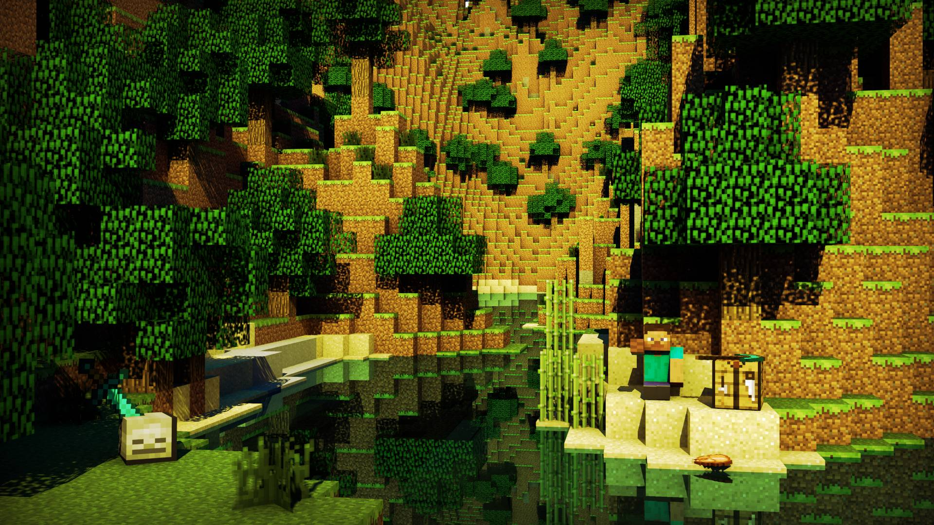 Best Minecraft Backgrounds - Wallpaper Cave