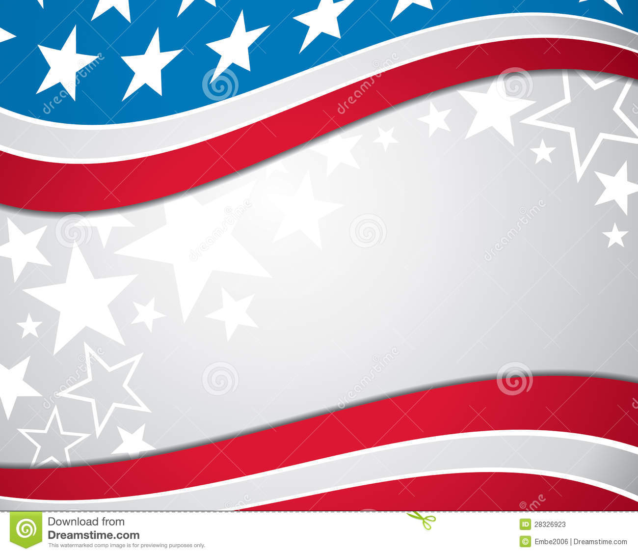 American Flag Background Stock Photos - Image: 28326923