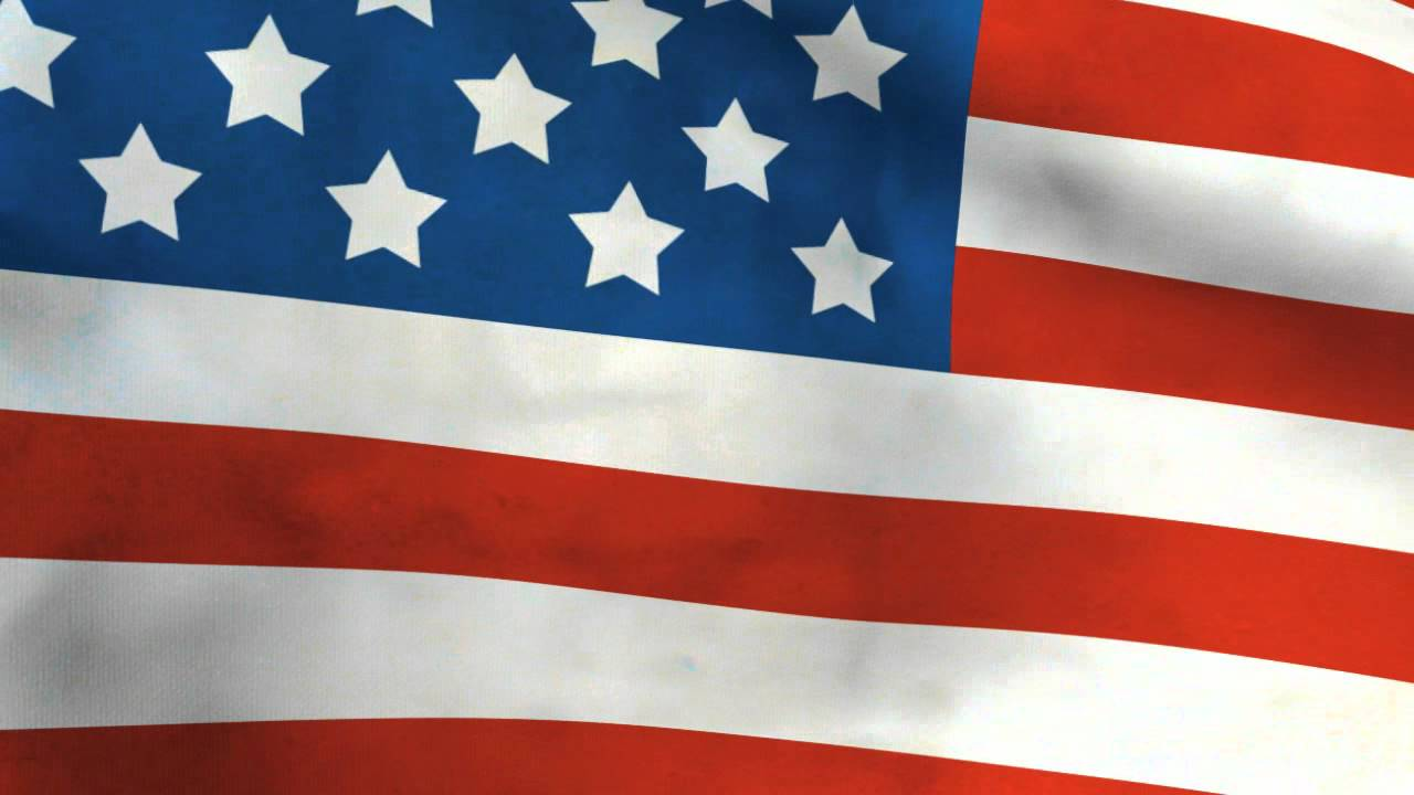 Free American Flag Background - YouTube