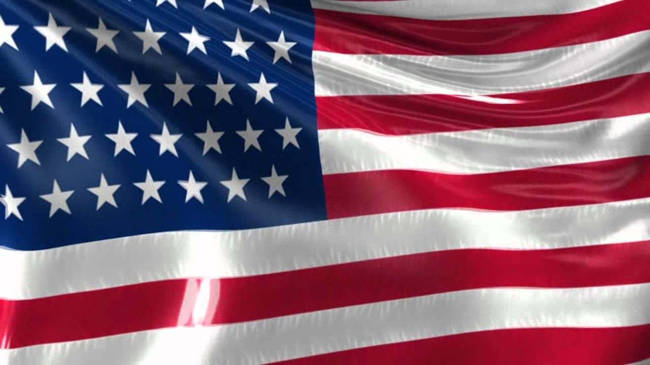 American Flag Loop Background HD - YouTube