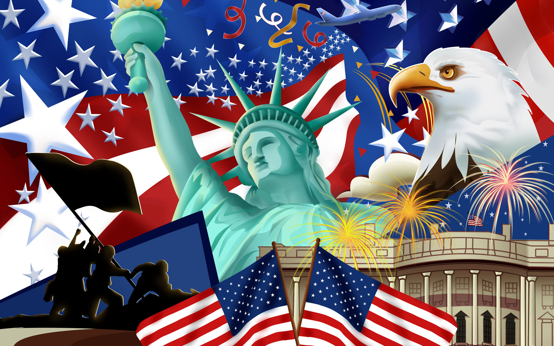 The most trending wallpapers of America