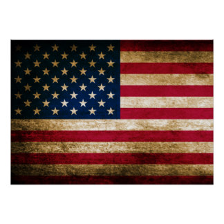 American Flag Posters   Zazzle