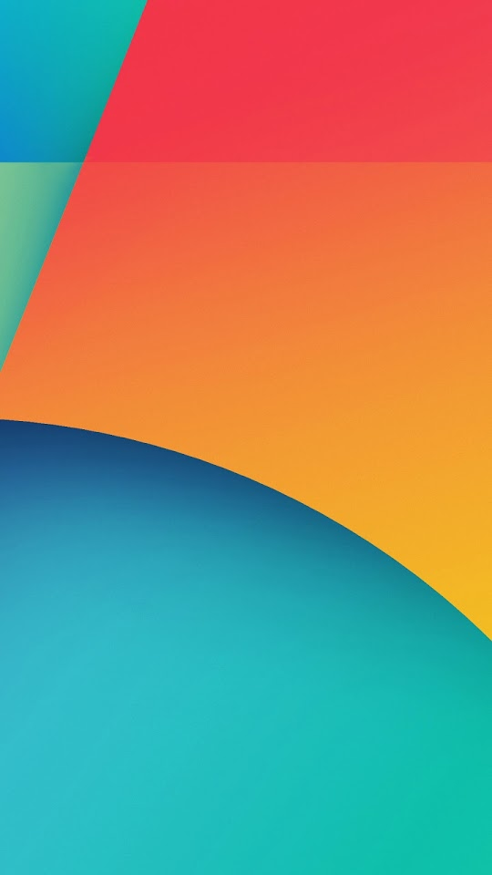 Nexus 5 Android 4 4 KitKat Orange Blue Android Wallpaper | (Best