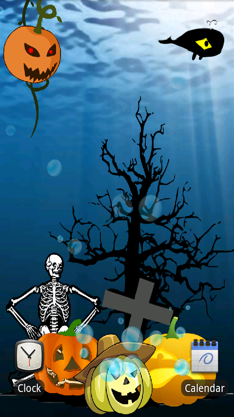 Halloween Live Wallpaper Android - WallpaperSafari