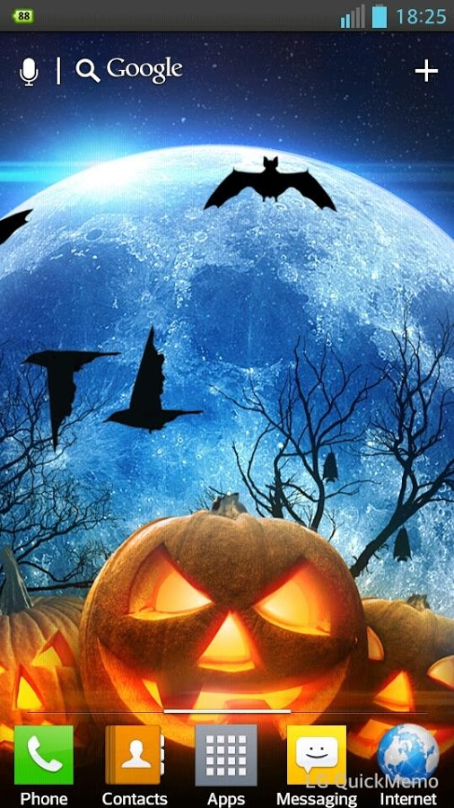 Halloween HD Live Wallpaper - Android Apps on Google Play