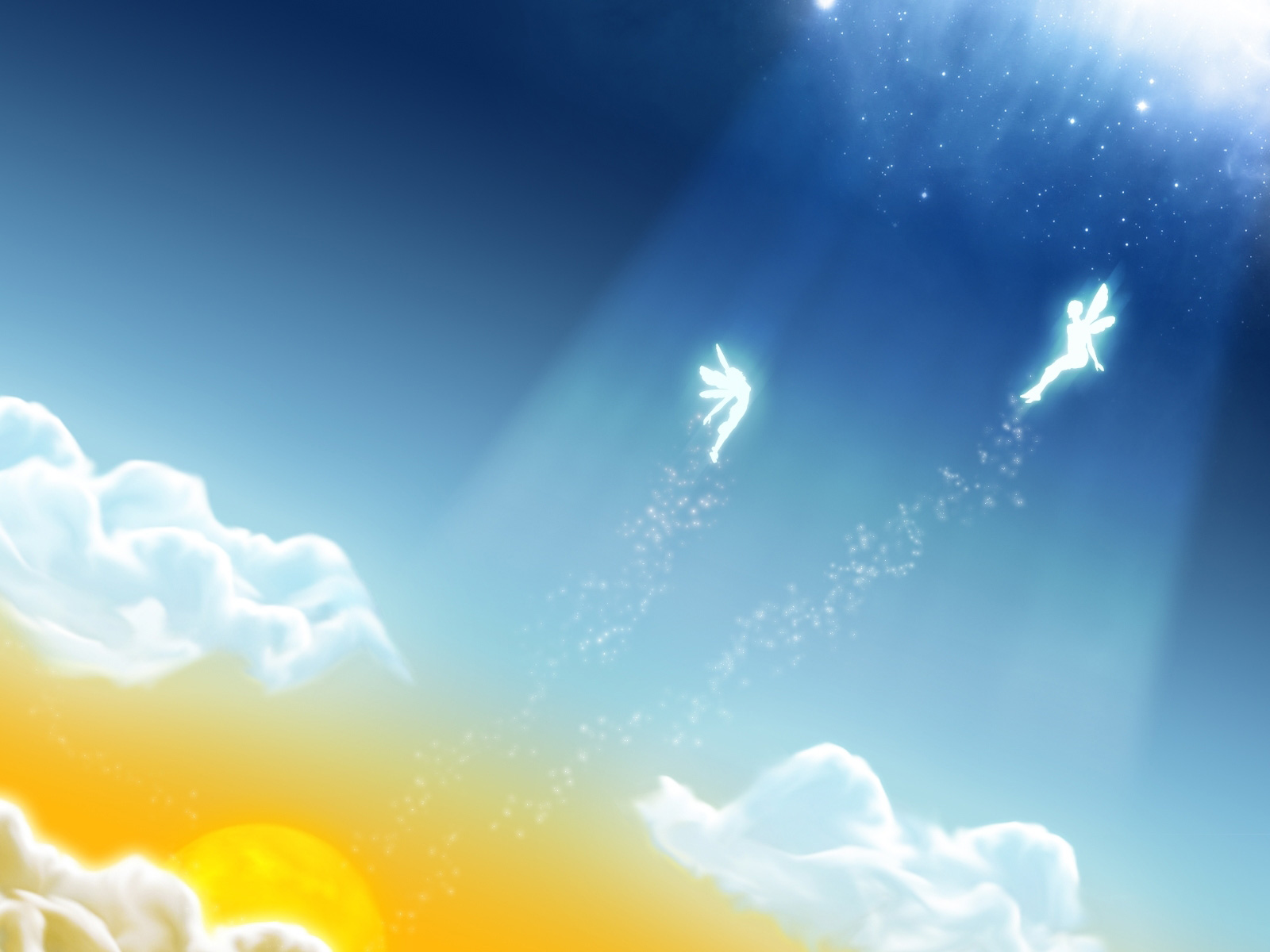 Collection of Angels Background on HDWallpapers