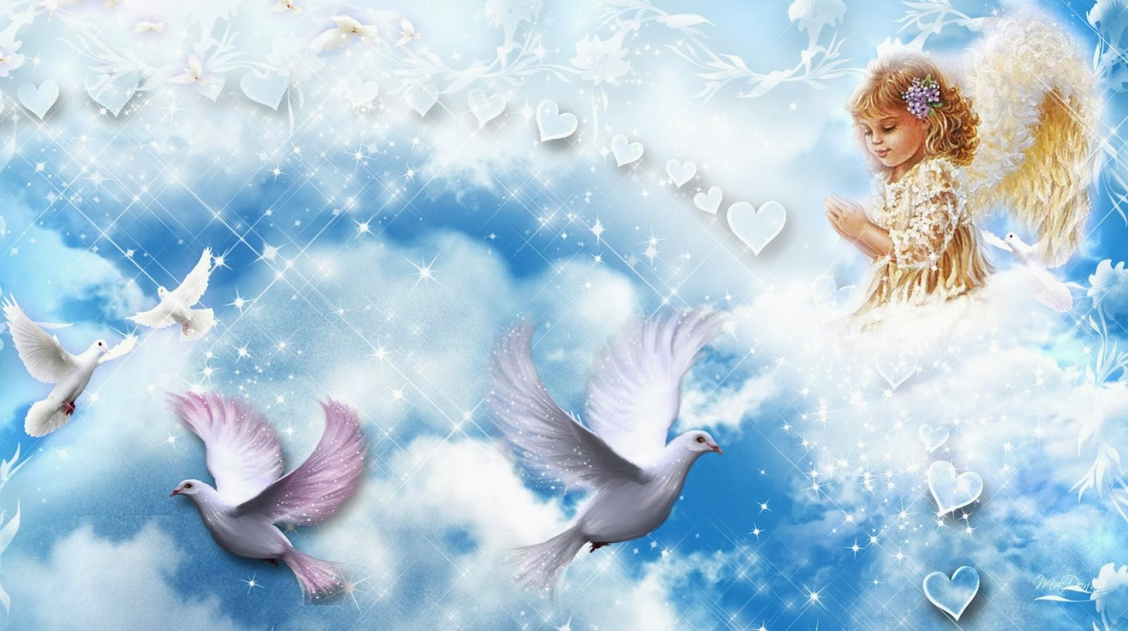 77 angel background wallpaper Pictures